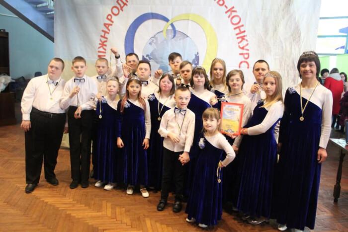 Колектив «сонячних дітей» із Луцька здобув перемогу у номінації на міжнародному фестивалі