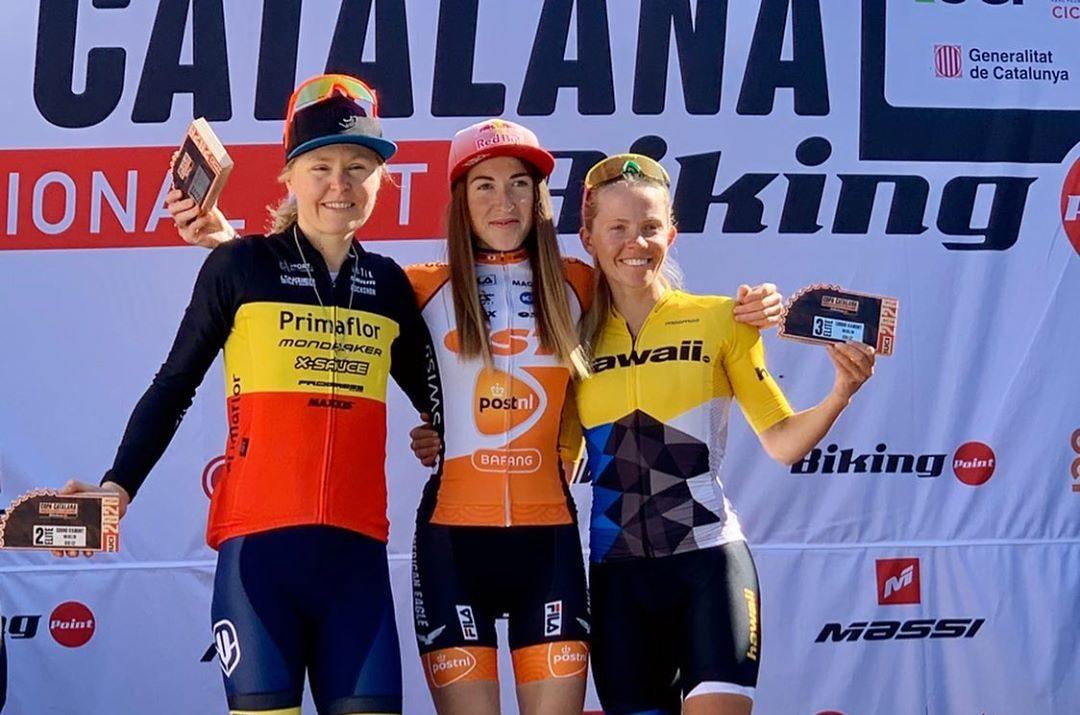 Велогонщиця з Луцька перемогла на міжнародному турнірі