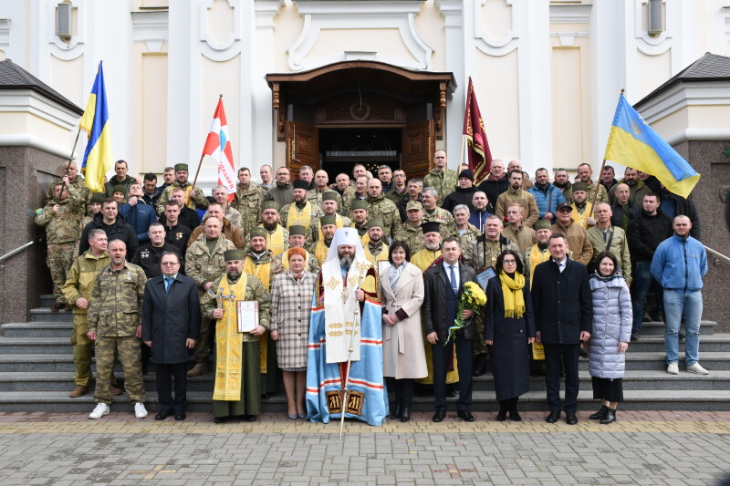 Ті, хто взяв на себе перший удар: у Луцьку урочисто відзначили День українського добровольця