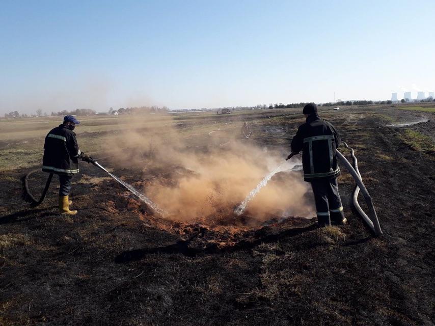 На Волині продовжують ліквідовувати пожежі сухої трави
