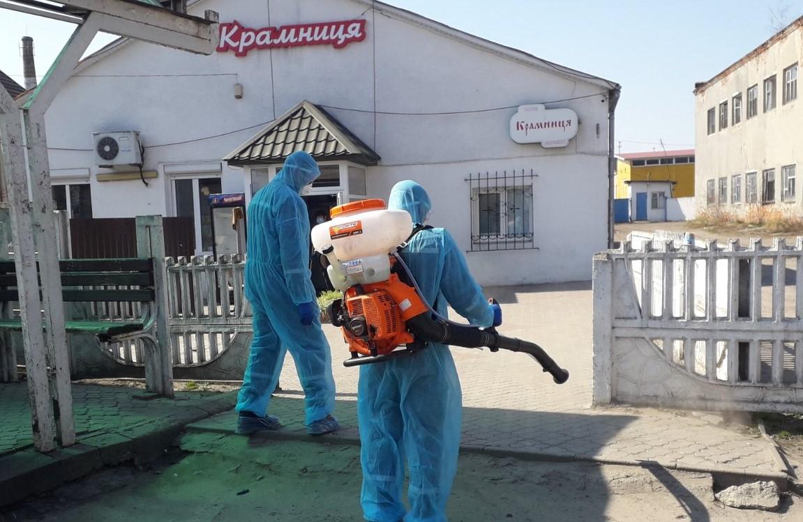 Волинські рятувальники долучаються до заходів із запобігання поширення коронавірусу