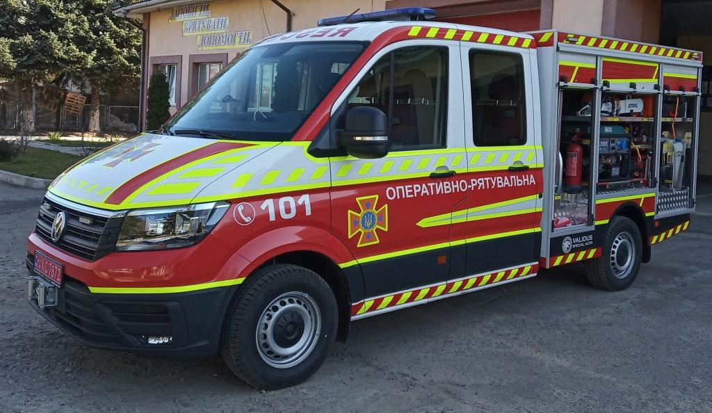 Волинські рятувальники отримали новий автомобіль