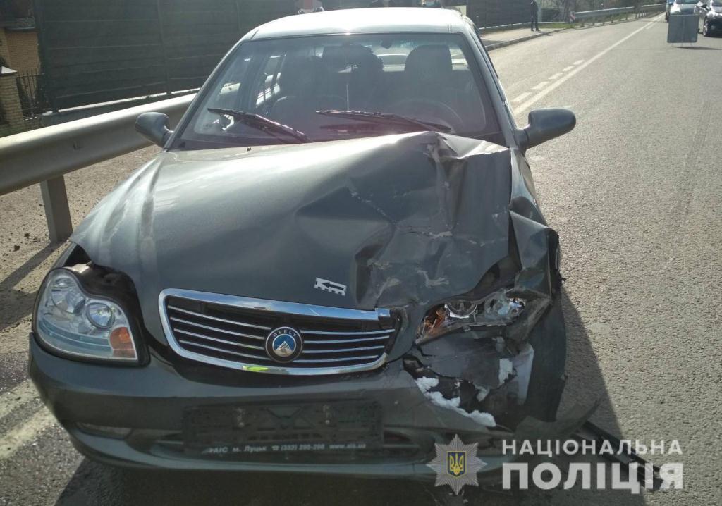 В ДТП поблизу Луцька постраждала 86-річна жінка
