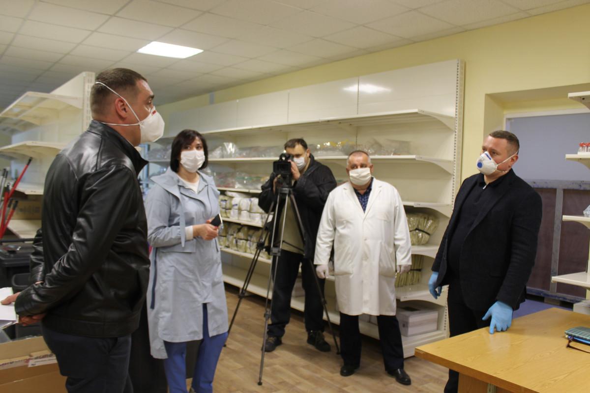 Волинська обласна лікарня прийняла перших «важких» пацієнтів на лікування у оновленому корпусі