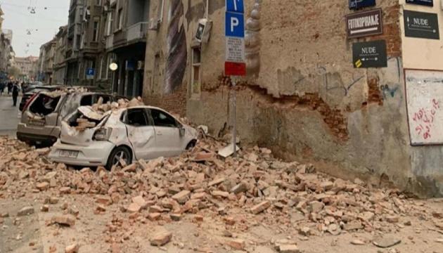 У хорватській столиці стався новий землетрус