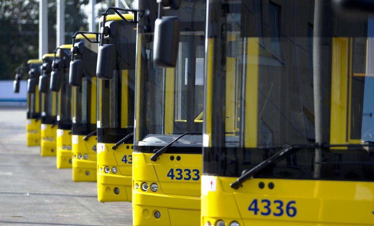 Луцьк отримуватиме нові тролейбуси партіями по шість одиниць