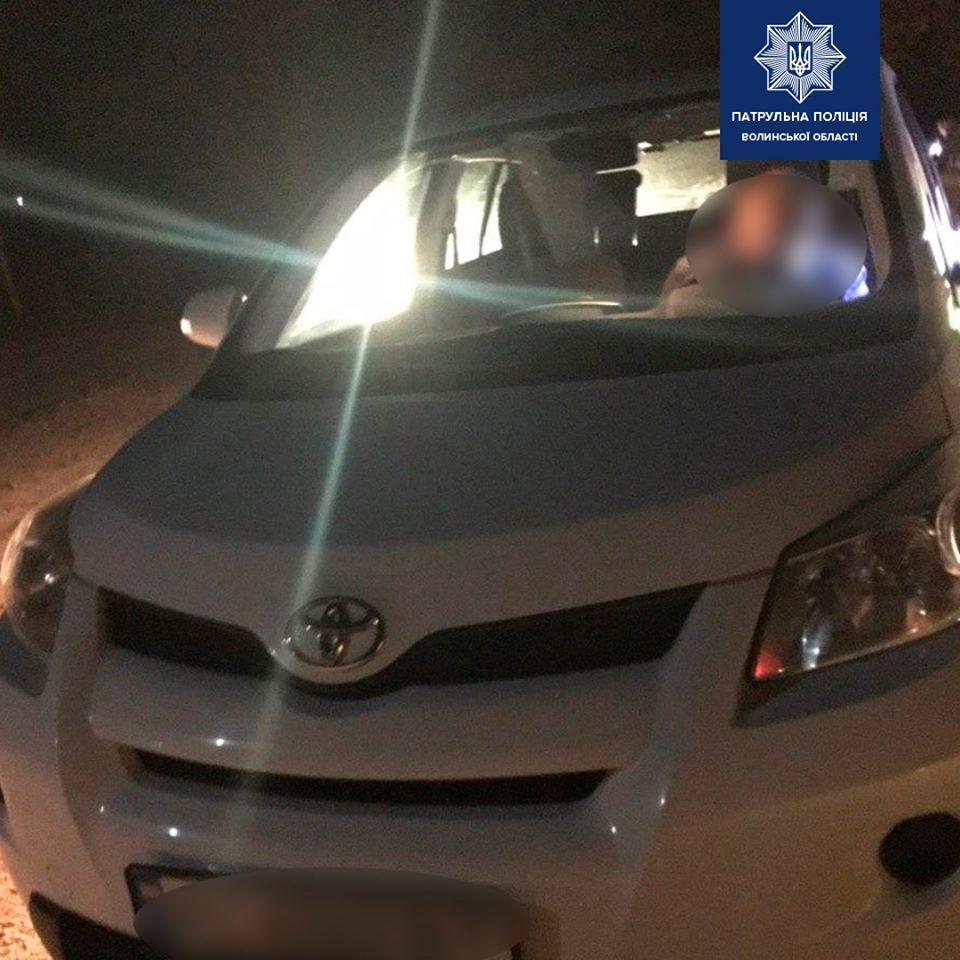 Нетверезий водій пропонував хабар волинським патрульним