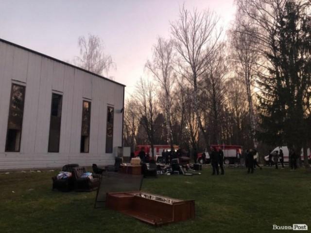 У Луцьку вогнеборці ліквідували пожежу у церкві
