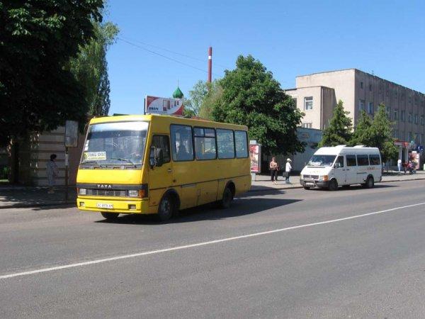 У Ковелі зупинили рух автобусів