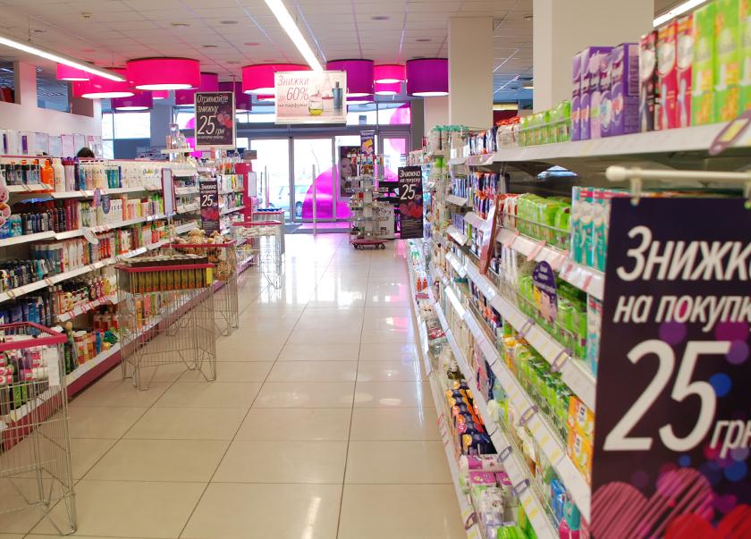 У Луцьку просять дозволити роботу мережі магазинів, де продають засоби гігієни