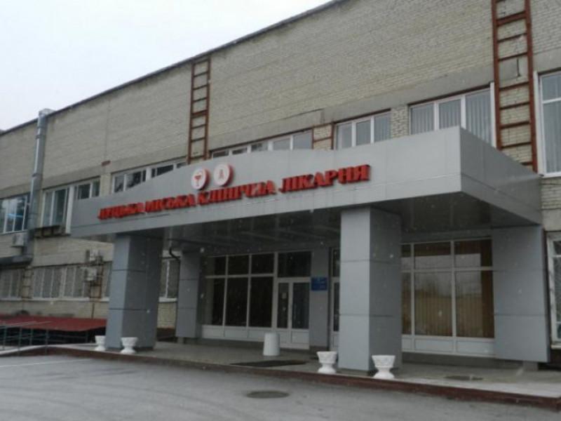 Відділення реанімації Луцької міської лікарні тимчасово не працюватиме