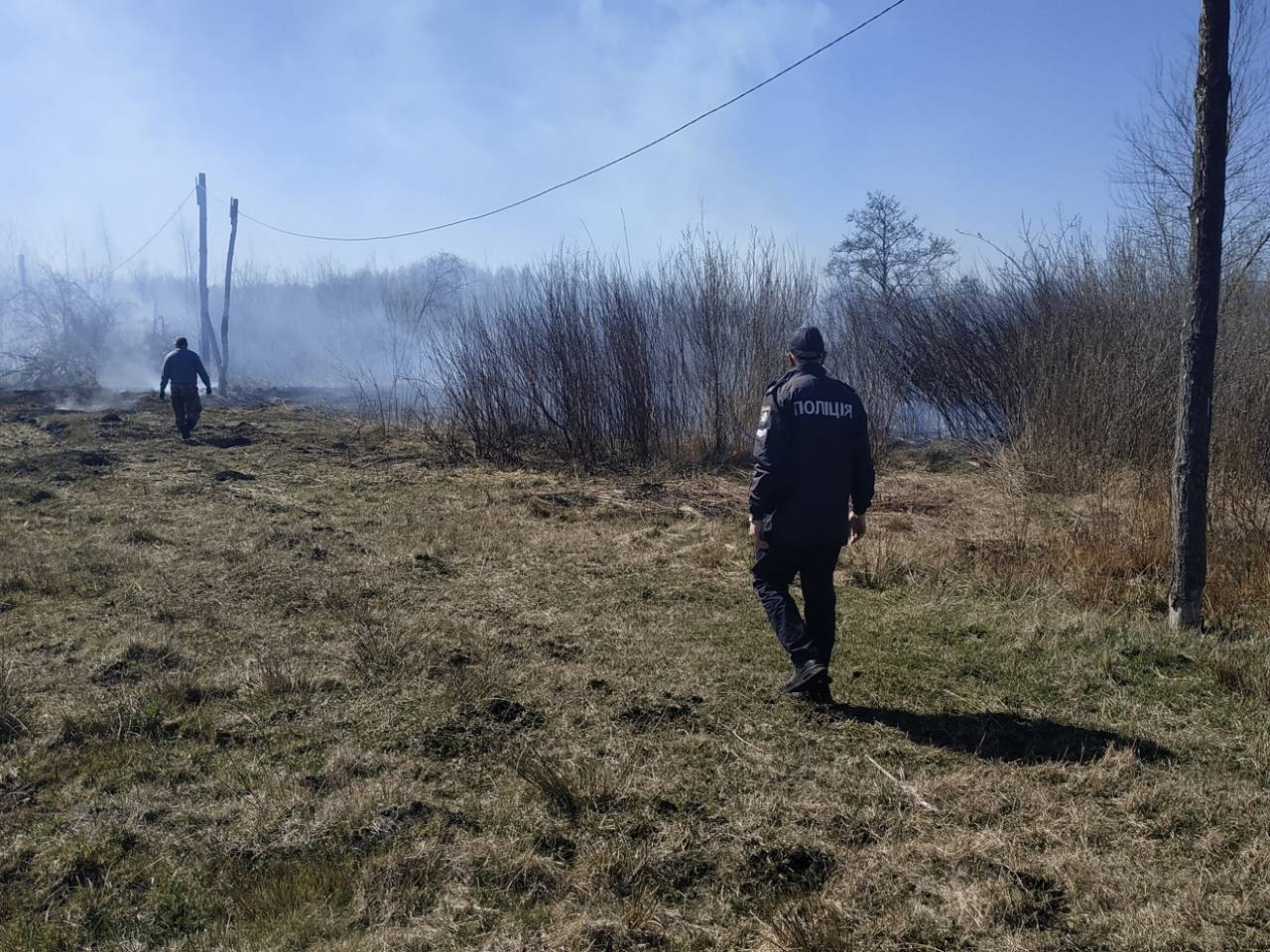 На Волині проводять рейди для запобігання пожежам в екосистемах