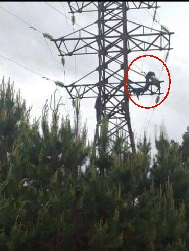 На Волині підліток загинув через пустощі на електроопорі