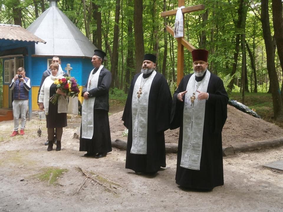 В урочищі на Волині вшанували Героїв України