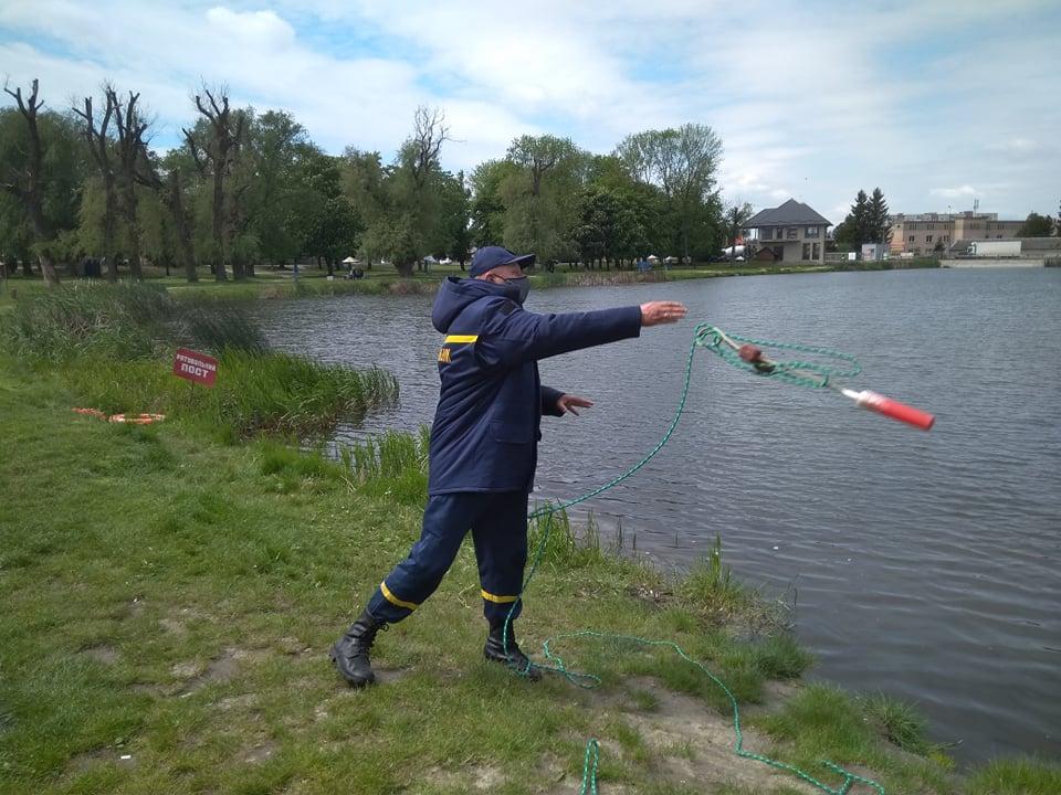 Рятувальники у Луцьку розпочали підготовку до купального сезону
