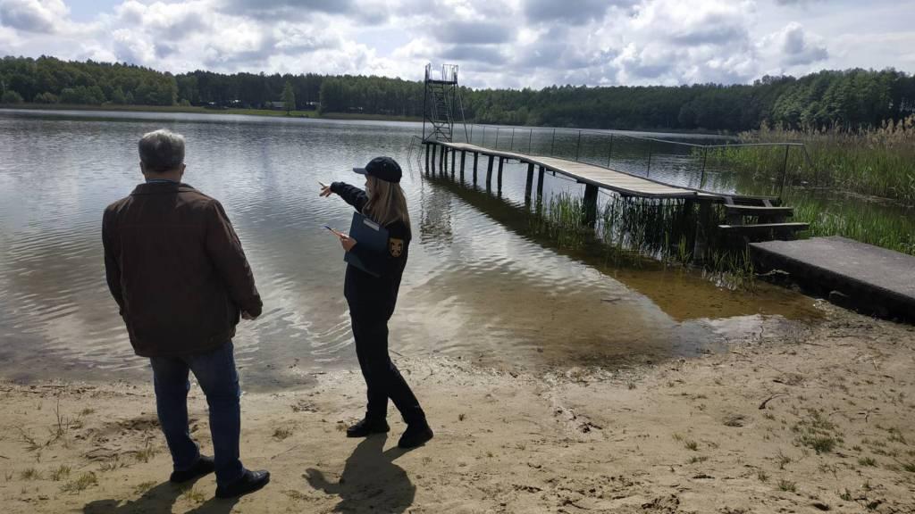 На Волині рятувальники оглянули готовність місць для купання громадян