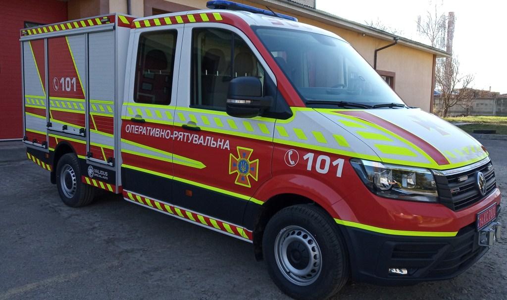 Вогнеборці ліквідували пожежу в будівлі Луцької міськради