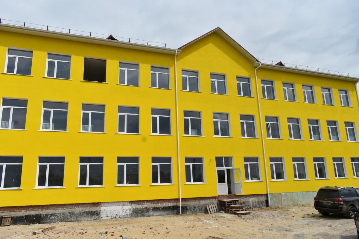 Будівля школи у селі на Волині готова на 60 %