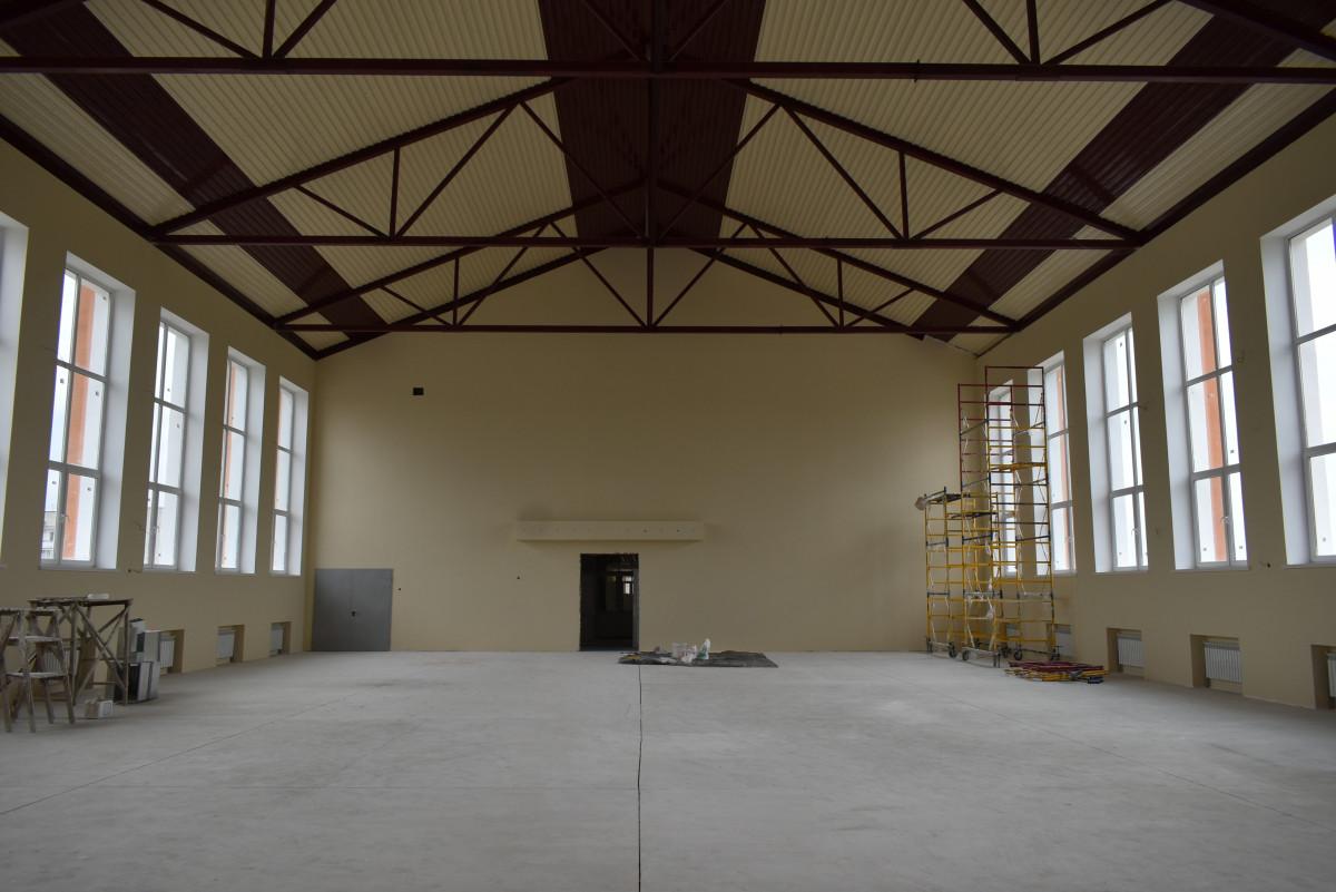 У сільській школі на Волині буде найбільший в області спортзал