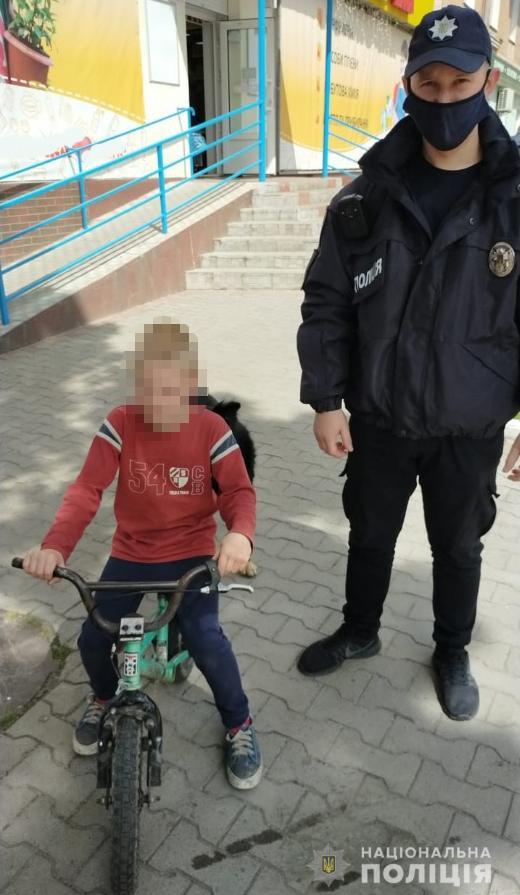 На Волині поліція оперативно розшукала 8-річного хлопця