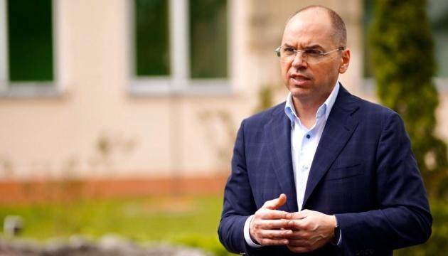 У лікарнях в Україні – не більше 15 % від загальної кількості заражених коронавірусом
