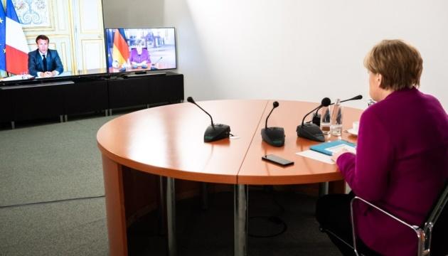 Меркель і Макрон погодили пакет допомоги Європі у 500 мільярдів євро