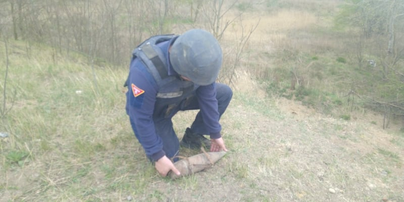 У Луцькому районі виявили боєприпаси часів Другої Світової війни