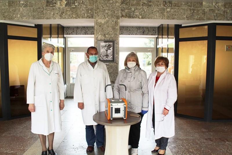 Для Ковельського МТМО придбали переносний рентгенапарат