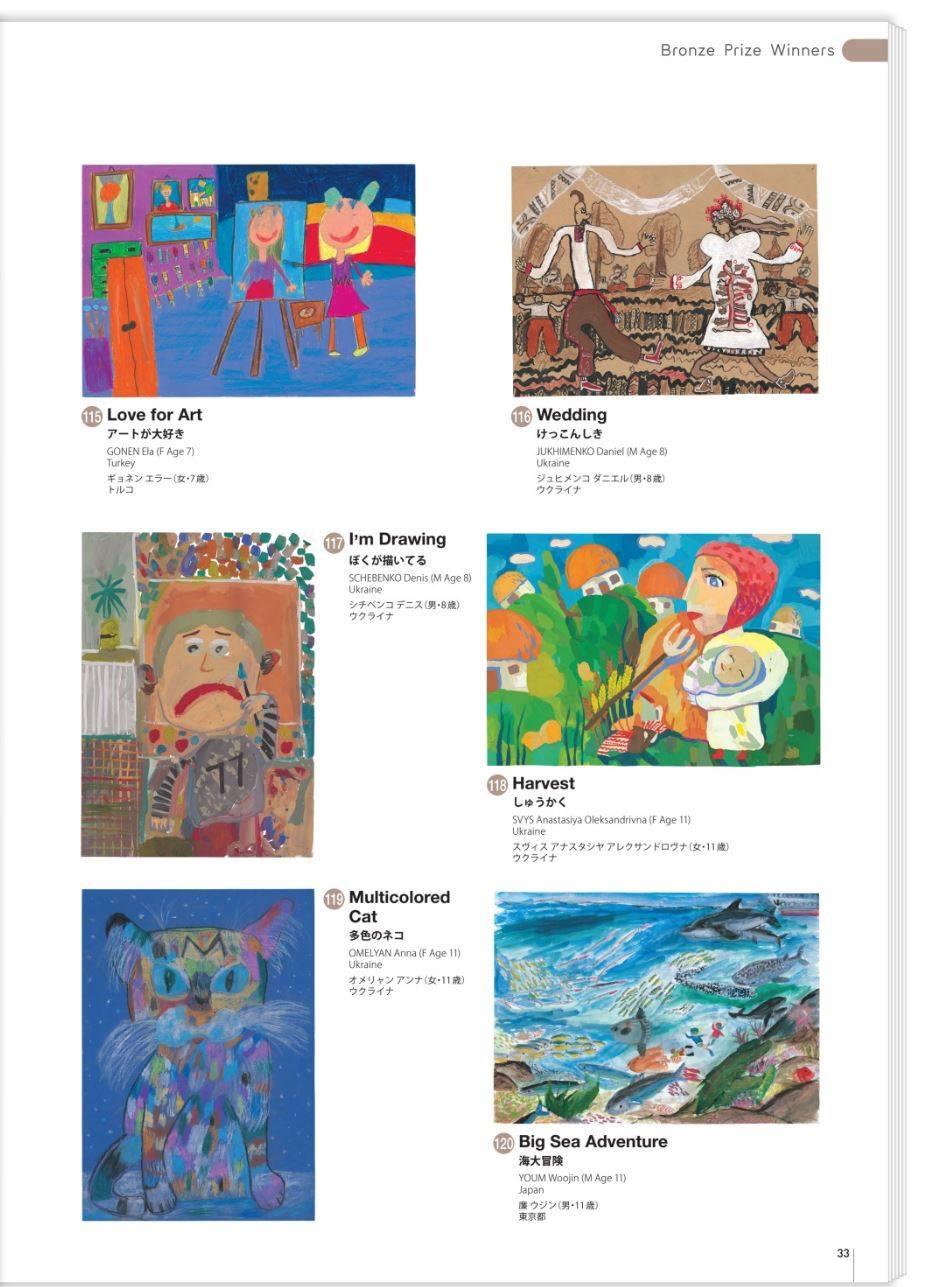 Юні волиняни – серед переможців всесвітнього конкурсу дитячого малюнку