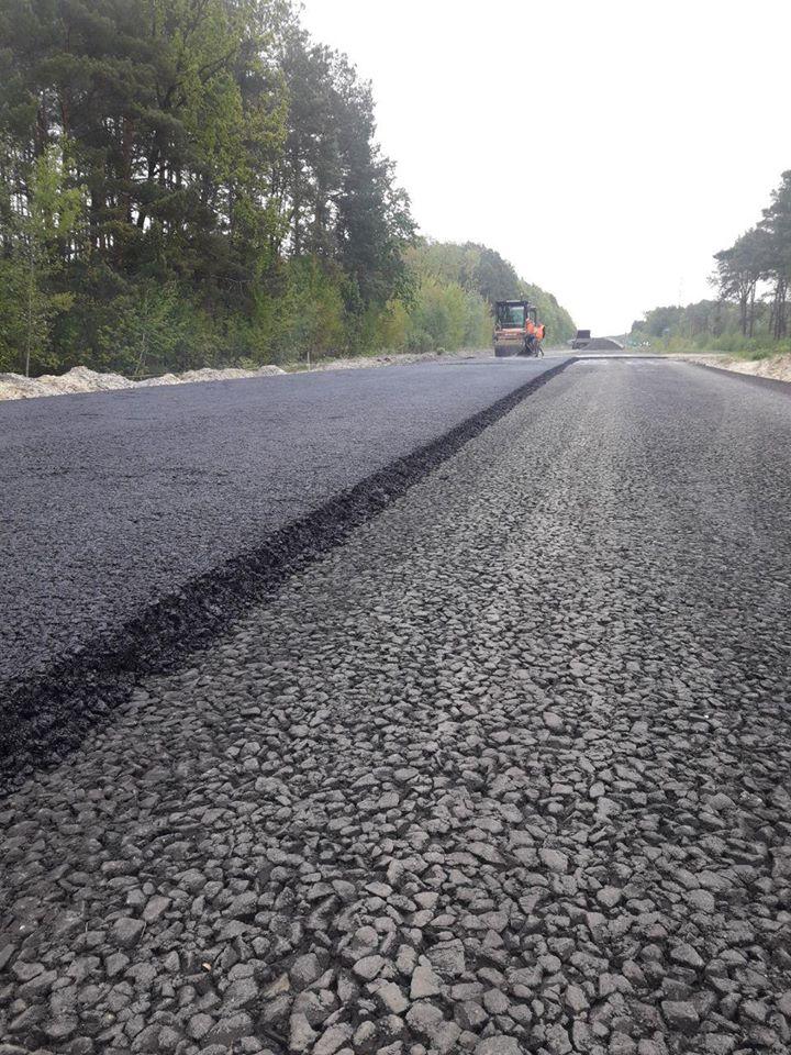 На Волині розпочали новий етап ремонту міжнародного автошляху