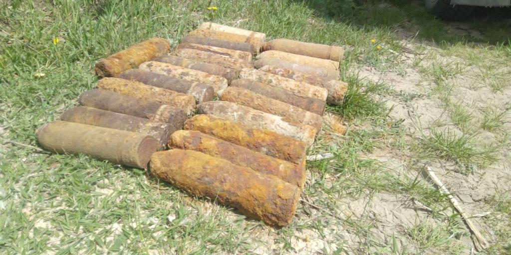 Сапери на Волині знешкодили арсенал боєприпасів