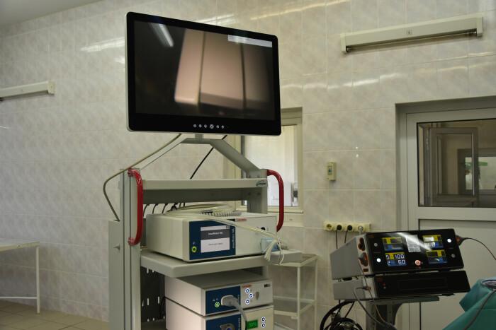 У Луцькій міській клінічній лікарні презентували нове медичне обладнання