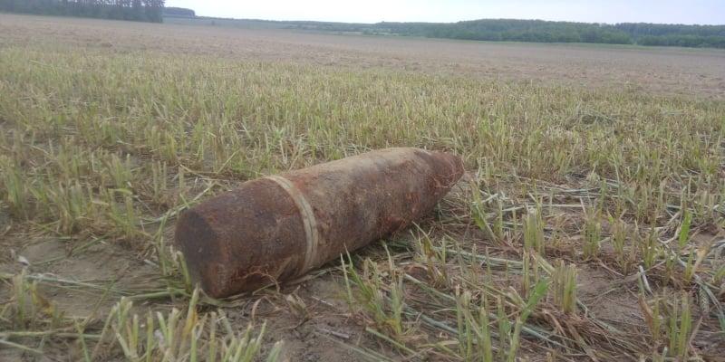 На Волині виявили артилерійські снаряди під час сільгоспробіт