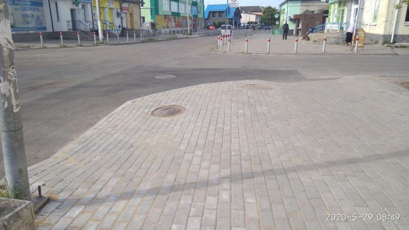 У райцентрі на Волині завершили ремонт вулиці