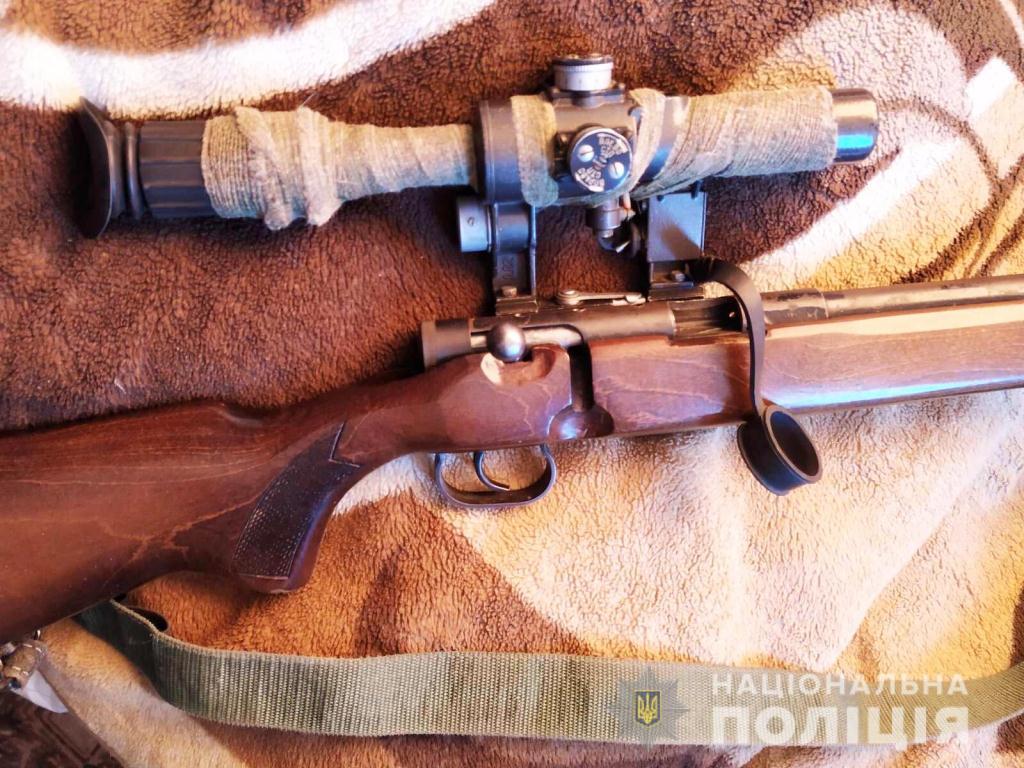 Правоохоронці вилучили у волинянина гвинтівку