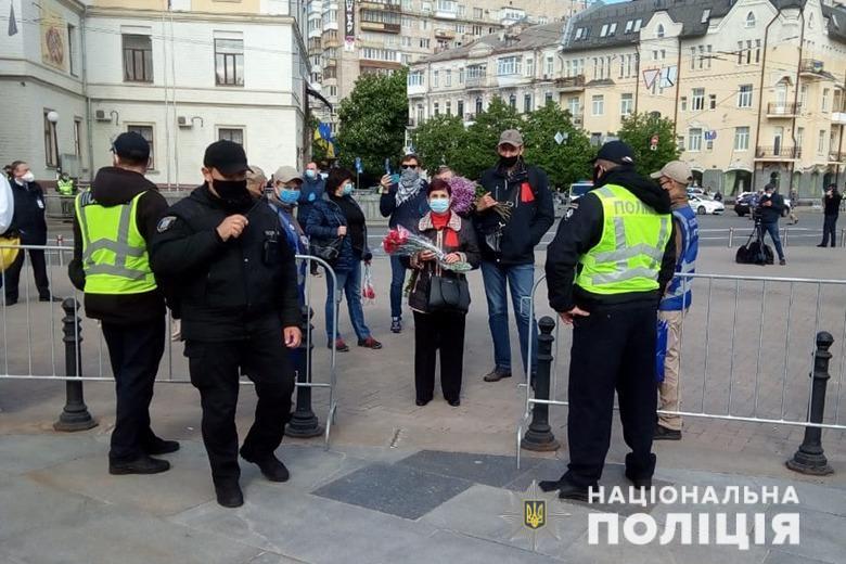 День перемоги над нацизмом: поліція порахувала учасників акцій в Україні