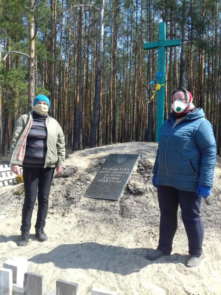 На Волині впорядковують меморіали та поховання до Дня перемоги над нацизмом