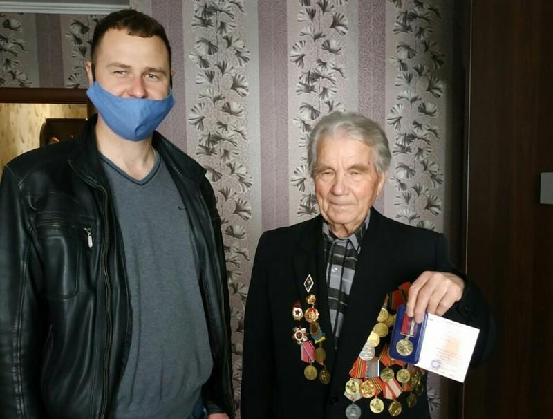 Ковельським ветеранам вручили пам'ятні медалі