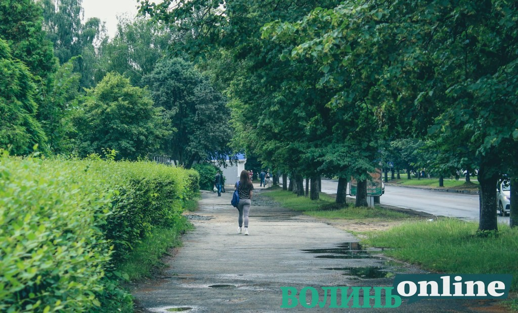 На одному з проспектів Луцька відремонтують тротуари за понад шість мільйонів