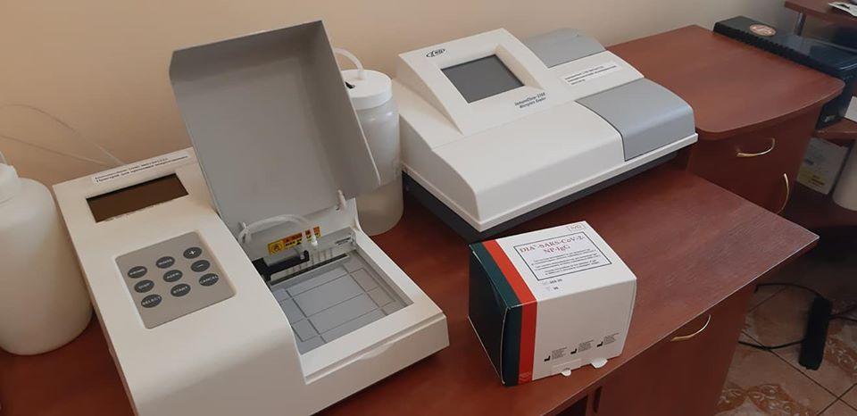 «Володимир-Волинське ТМО» розпочало тестування на антитіла до COVID-19