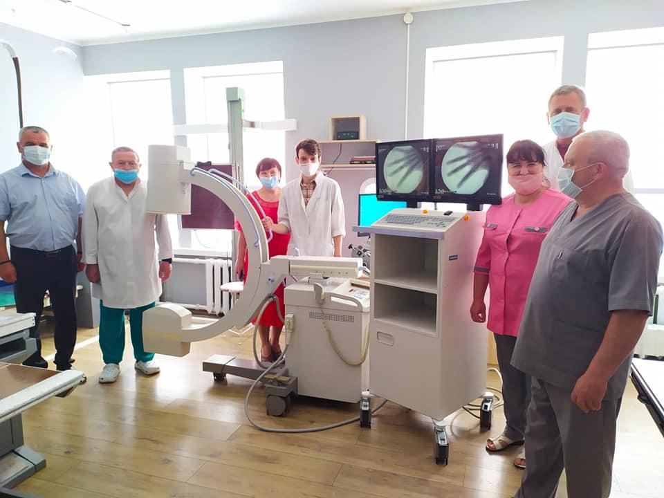 Мобільний рентген для лікарні на Волині придбали за кошти благодійників