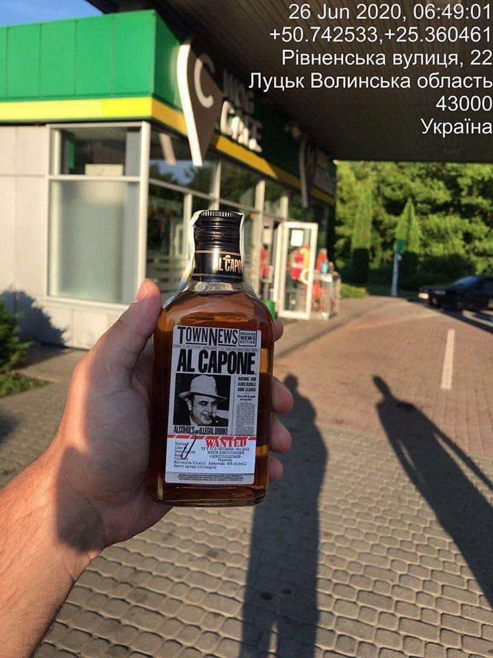 У магазині та на АЗС у Луцьку продавали алкоголь у заборонений час