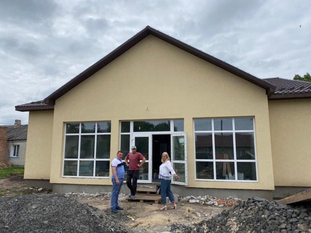 Будівництво амбулаторії на Волині готове на 80 %