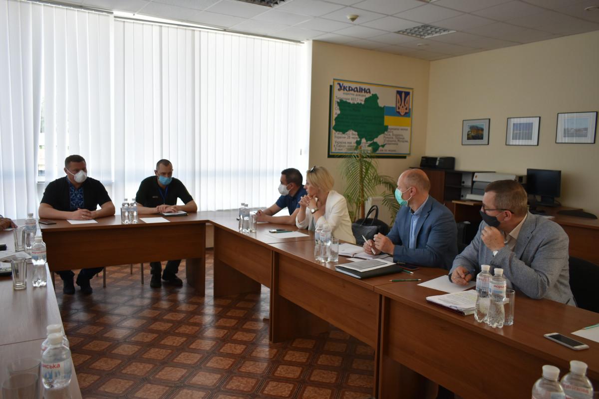 На ПП «Ягодин» радилися щодо обсервації осіб, які в'їжджають в Україну