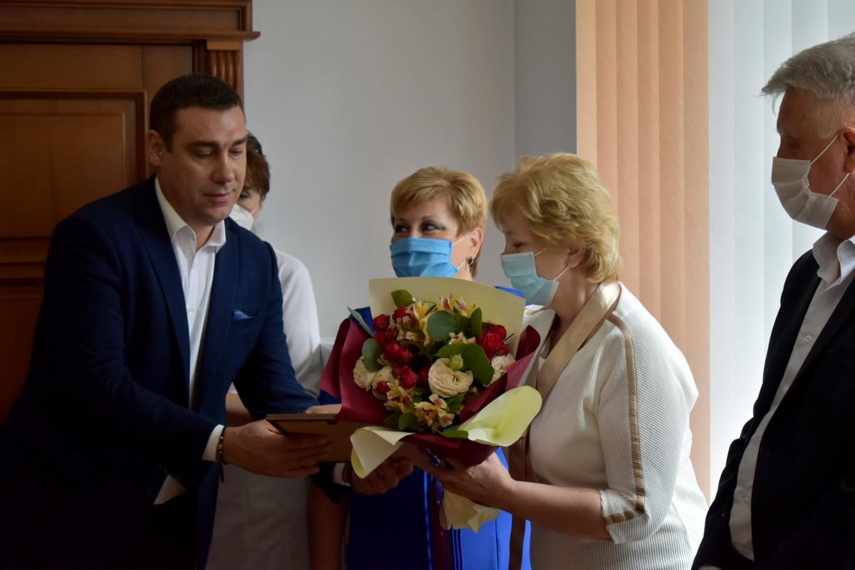 Волинських медиків привітали з професійним святом