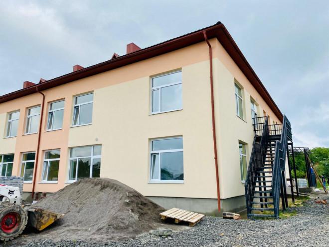 Дитсадок у селі на Волині планують добудувати до кінця серпня