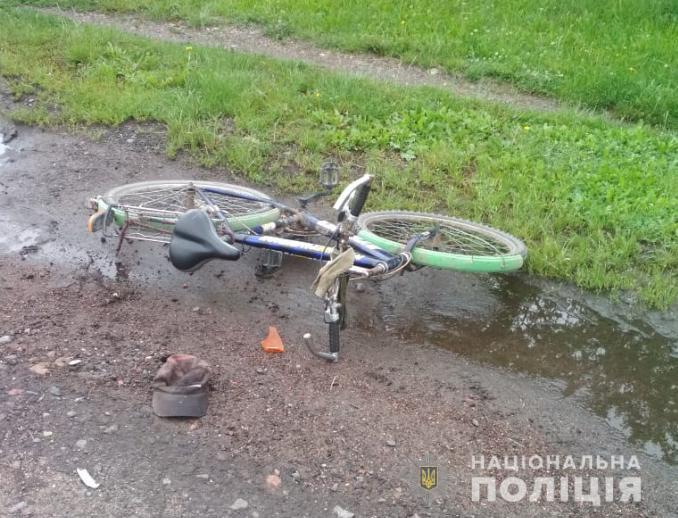 В ДТП на Волині постраждали велосипедисти