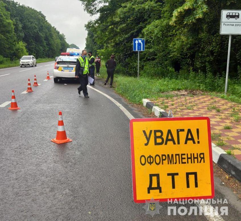 У ДТП поблизу Луцька загинув водій легковика