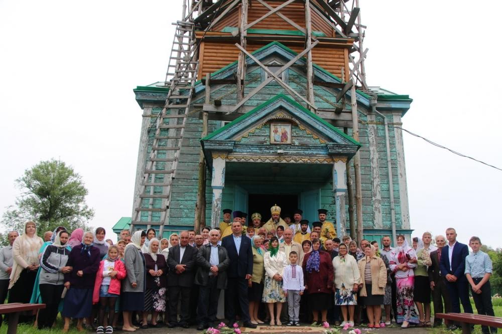 Митрополит Михаїл вперше відвідав парафію поблизу Луцька, яка перейшла в ПЦУ
