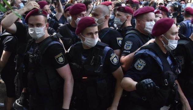 Поліція призначила службове розслідування після затримань під судом у справі Стерненка